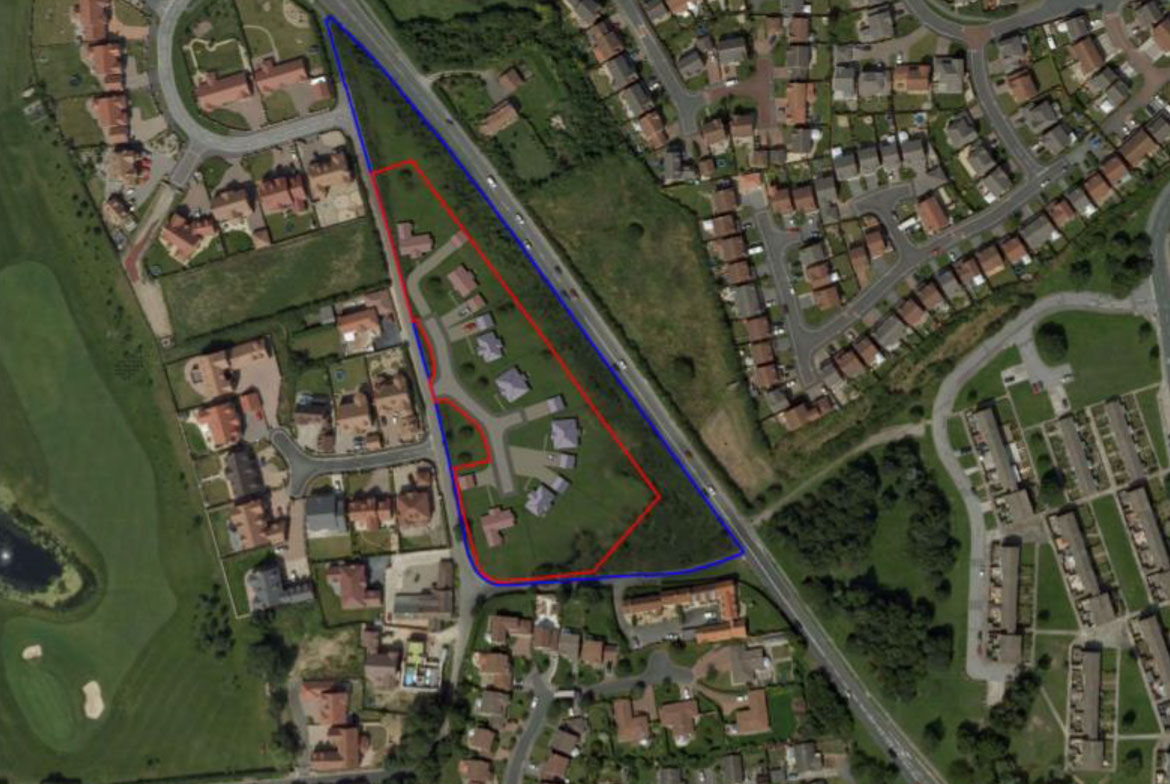 3.66 acres Residential self-build plots